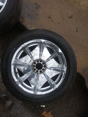 20 inch rims and tires for Sale in Jackson, TN