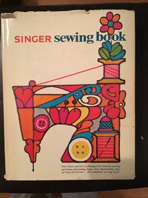 Singer sewing machine vintage book for Sale in San Antonio, TX