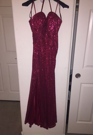 Sequence red prom dress for Sale in Maricopa, AZ
