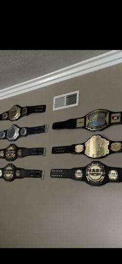 Metal And Leather MMA Award belts For $85!!! for Sale in Chino,  CA