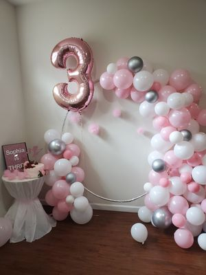 Baloons decor party girl for Sale in Spanaway, WA