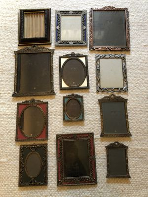 Antique look picture frames-12 for Sale in Arlington, VA