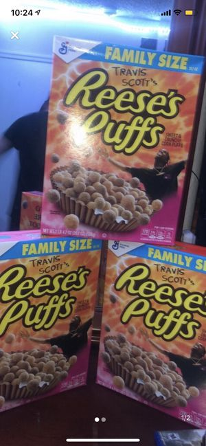 Travis Scott Reese's puffs cereal for Sale in Miami, FL