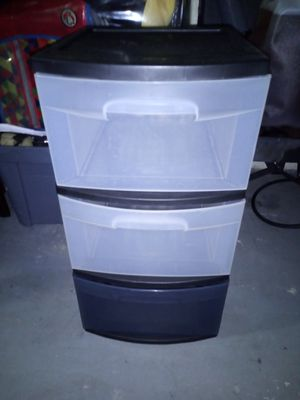 Plastic drawers for Sale in Lakeland, FL