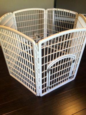 Plastic dog play pen new for Sale in San Marcos, CA