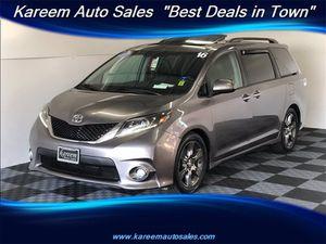 2016 Toyota Sienna for Sale in Sacramento, CA