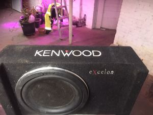Kenwood sub woofer for Sale in Manchester, CT
