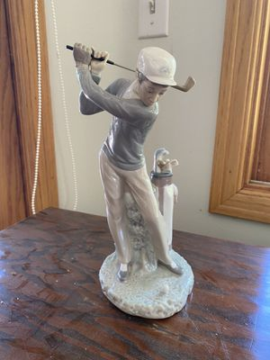 Lladro golf boy collectible for Sale in Azusa, CA