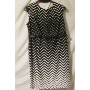 Dress barn Black and White High Waist Dress 18 for Sale in Culver City, CA