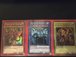 Egyptian God Cards Yugioh for Sale in Tempe, AZ