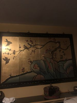 Chinese Black lacquer Room set for Sale in Glen Mills, PA