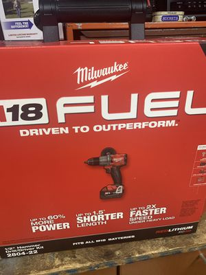18v Milwaukee hammer drill for Sale in San Antonio, TX
