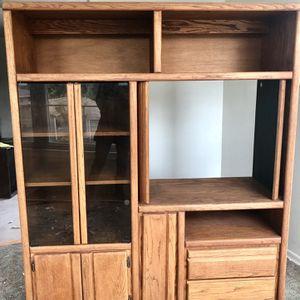 Underhill Oak Storage Cabinet for Sale in Shoreline, WA