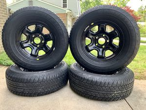 5x5.5 RAM Wheels and Tires for Sale in Fort Washington, MD
