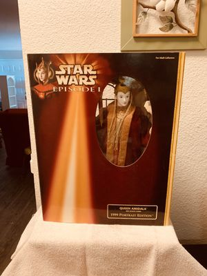 1999 Queen Amidala Portrait Edition Figures for Sale in Wood Village, OR