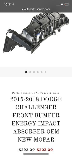 Auto Body part for Dodge Challenger for Sale in Los Angeles, CA