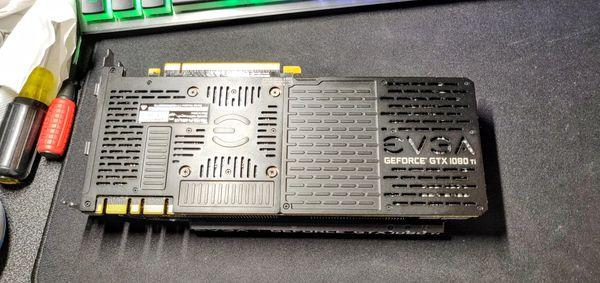 EVGA GTX 1080 Ti SC2