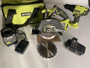 RYOBI starter kit for Sale in Irwindale, CA