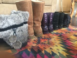 ASSORTED WINTER BOOTS SALE for Sale in Detroit, MI