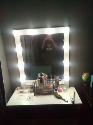 Custom built make-up mirror for Sale in New Iberia, LA