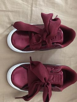 Puma Little Girls Size 11 Sneakers for Sale in Fuquay-Varina,  NC