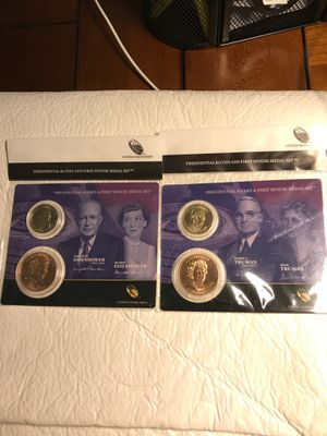 Lot of Presidential coin & spouse medal for Sale in Lake Wales, FL