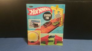 Hot Wheels Sticker Book 1968 for Sale in North Little Rock, AR