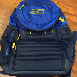 Under Armour SC30 Steph Curry Undeniable Basketball BLUE Backpack for Sale in Pico Rivera, CA