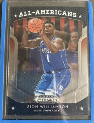 Zion Panini Prizm Rookie Card 2019 💠🔥 for Sale in Covina, CA