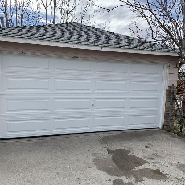 Garage Door Nuevas Y Usadas Buenas Condiciones Instaladas
