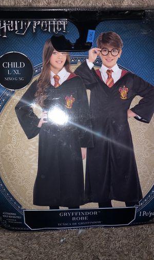 Gryffindor Robe Harry Potter costume child size L/XL for Sale in East Orange, NJ