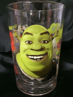 Collectable McDonald's Shrek Glass for Sale in San Ramon, CA