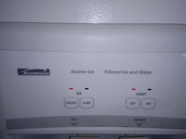Excellent Clean used White Kenmore fridge clean