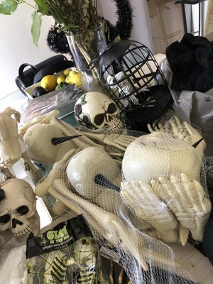 Brand new lot of Halloween decorations for Sale in Los Angeles, CA