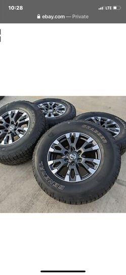 "Nissan Titan / Armada 18"" take-offs like new for Sale in San Antonio,  TX"