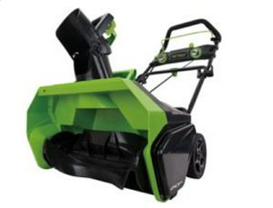 Snow blower Green works pro (Open box missing battery; has charger) for Sale in New Haven, IN