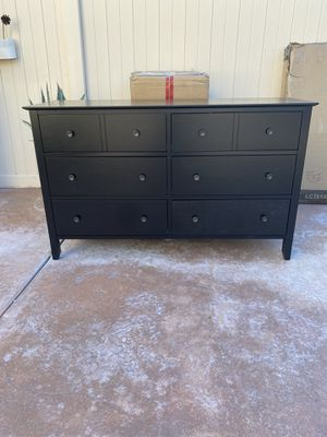 6-Drawer Dresser, Chest of Drawers with Solid Wood Frame, Storage Unit for the Bedroom, Living Room, with Antique-Style Handles( not Ikea) for Sale in Chino, CA