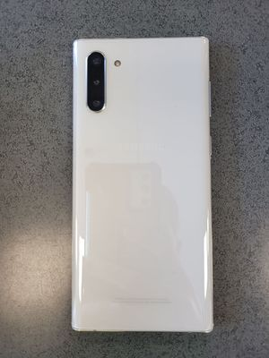 WHITE GALAXY NOTE 10 SAMSUNG PHONE for Sale in Baxter, MN