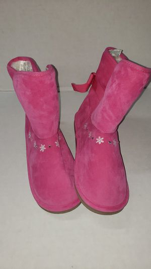 GYMBOREE ❄ SNOWFLAKE FLEECE WINTER BOOTS FOR GIRLS for Sale in Los Angeles, CA