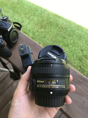 Nikon 50mm lens for Sale in Leesville, SC