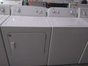 Washer and dryer set perfect condition for Sale in Miami Gardens, FL