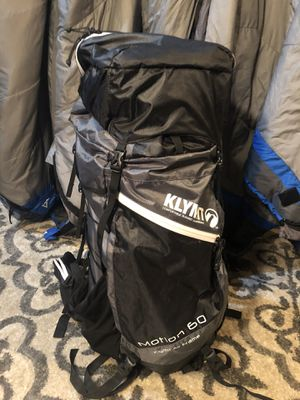 Backpacking Pack 60 Liter - Klymit Motion 60 for Sale in Evergreen, CO