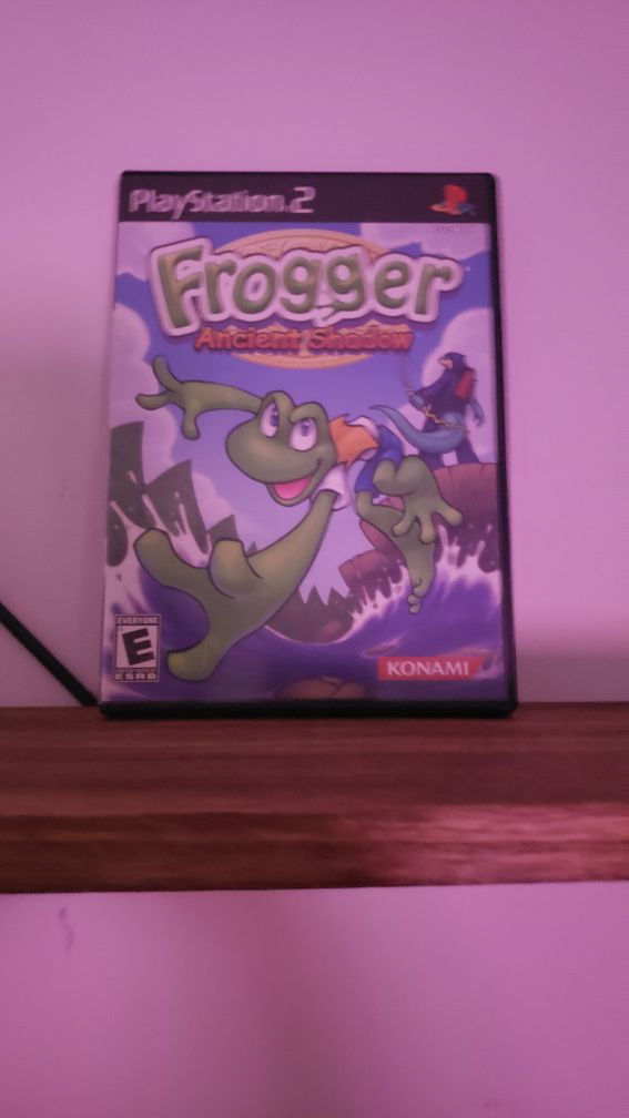 Frogger ancient shadow [PS2]