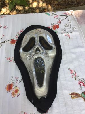 Scary Halloween mask adult size $5 good condition for Sale in Riverbank, CA