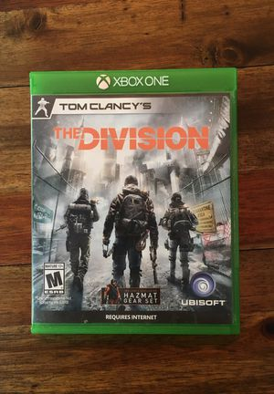 Tom Clancy's The Division - Xbox One Game for Sale in Everett, WA