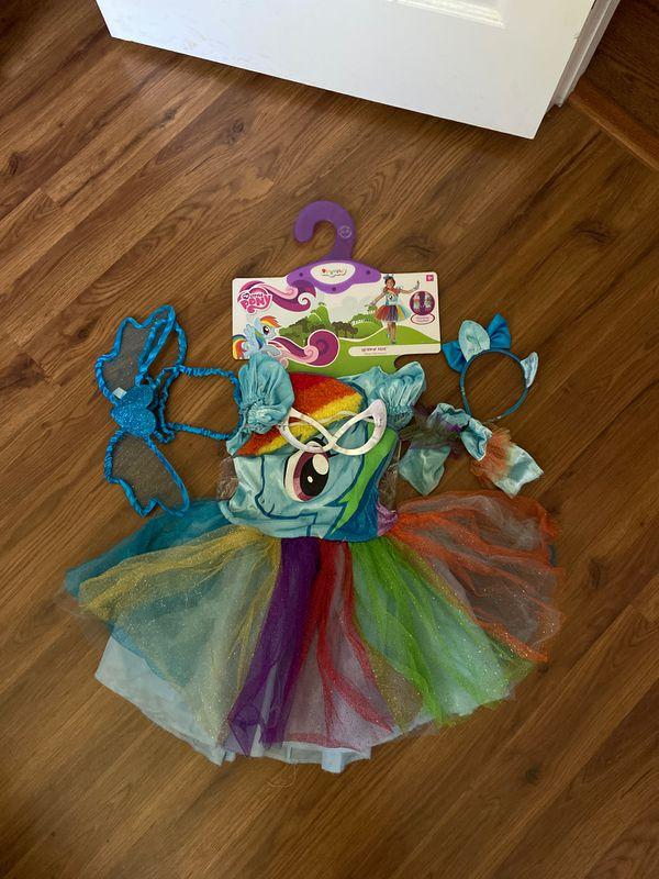Halloween costume rainbow dash
