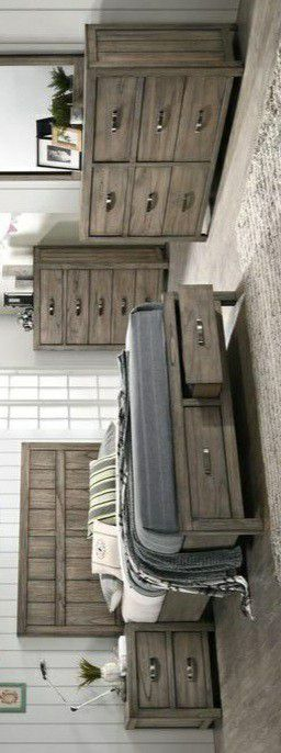 🍃the price is nice🍃Arcadia Gray Storage Platform Bedroom Set | B5600 for Sale in Jessup, MD