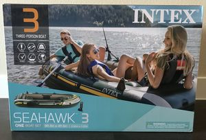 New inflatable 3 person Fishing River Lake Summer for Sale in Henderson, NV