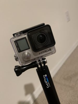 GoPro Hero 4, support water proof and camera for Sale in Orlando, FL