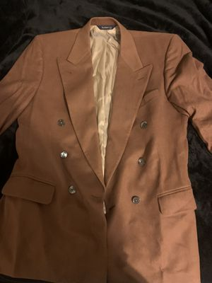 Vintage Burberry's cashmere Tailored jacket. 43 R measurements basically for Sale in Clinton Township, MI